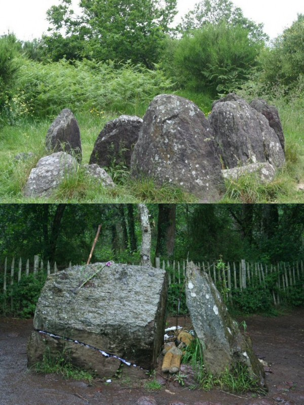 Vivian's house and Merlin's tomb