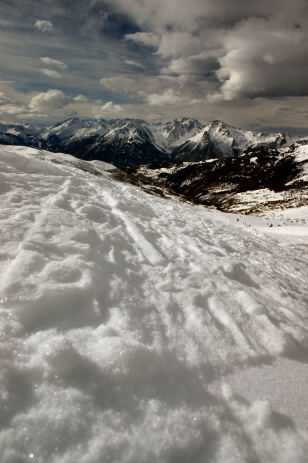 View from Valmorel.