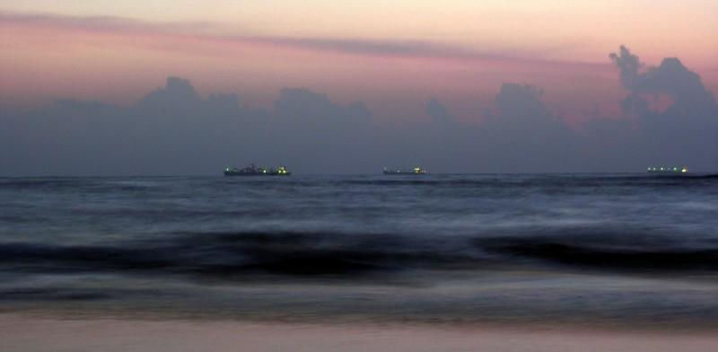 Ships reaching Goa