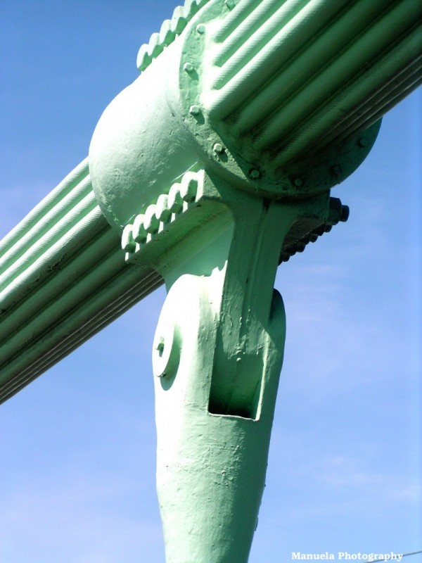 bridge metal arch koeln germany