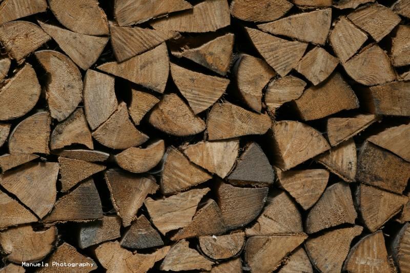 stack wood rural countryside germany bavaria