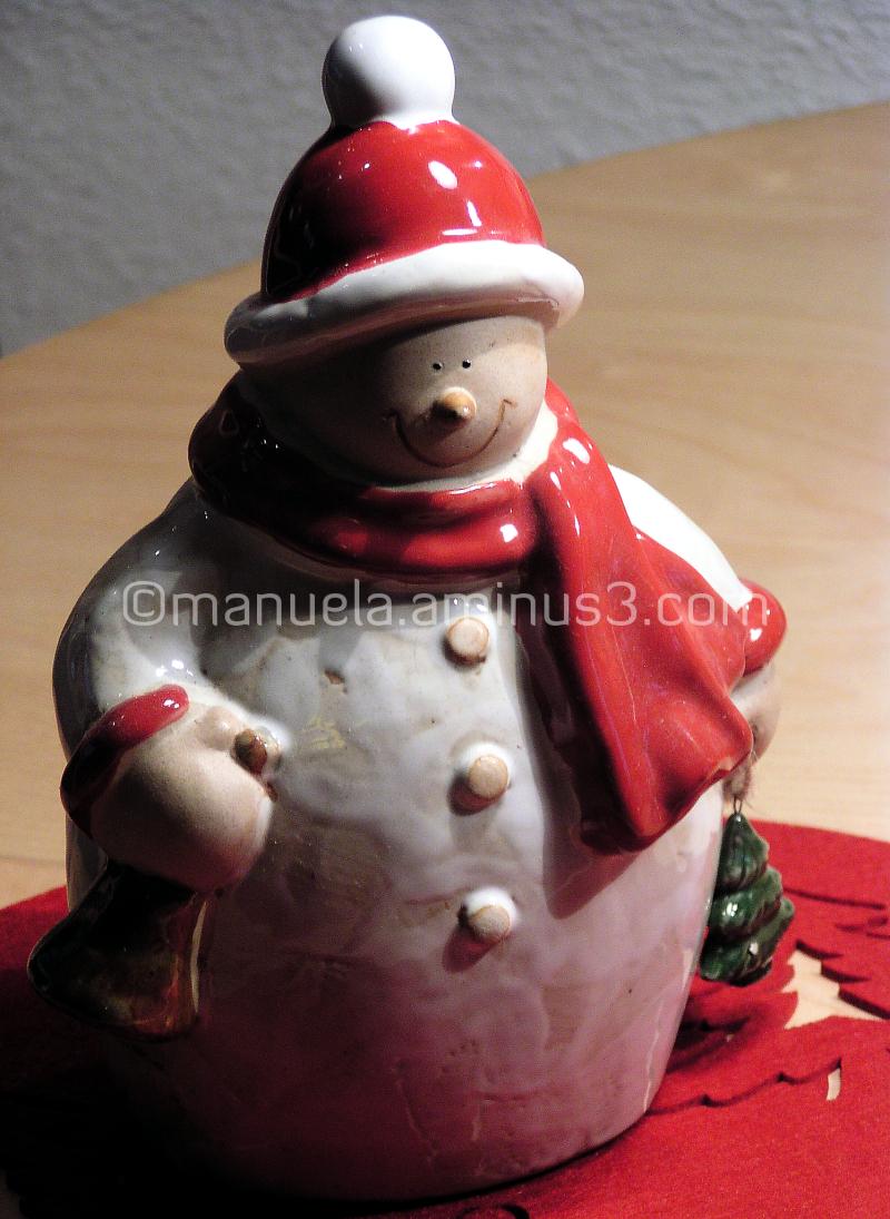snowman christmas presents new year snow winter