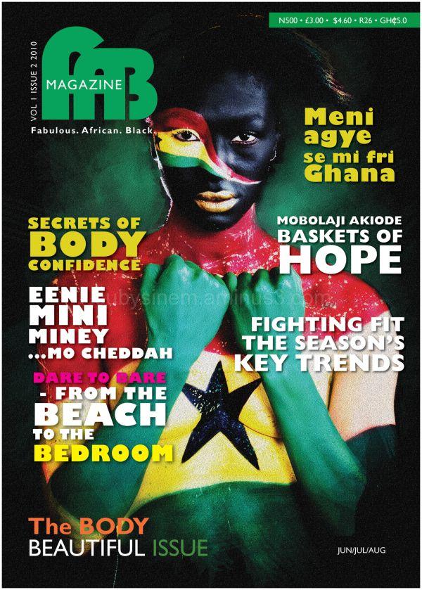 Fab Magazine Female Issue 2 cover