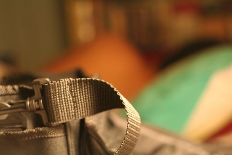 My camera bag strap
