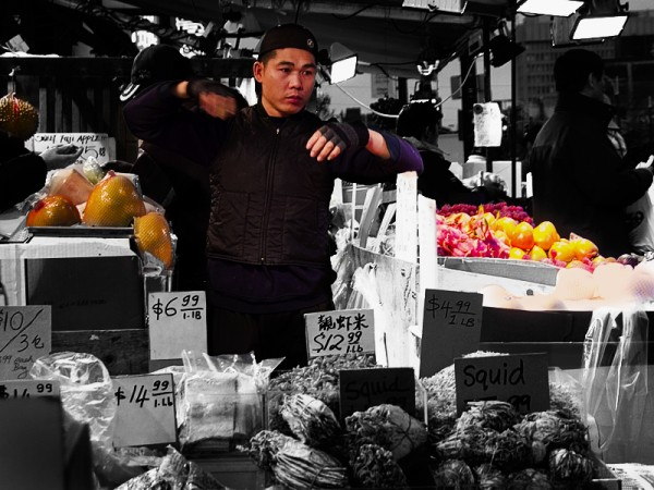 Chinatown fruit market