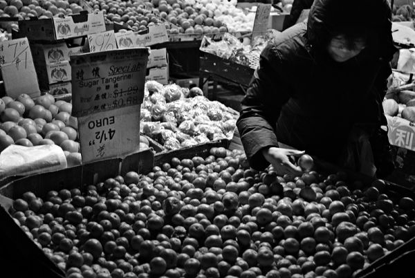 Selecting a tangerine