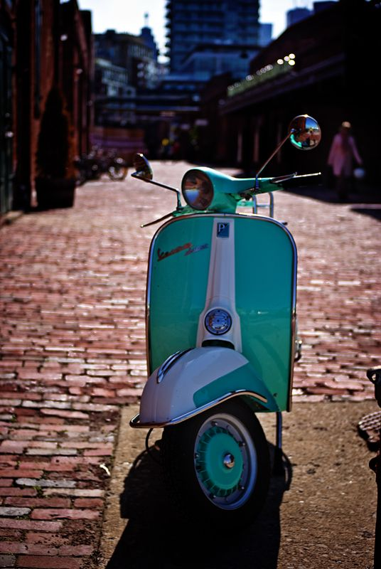 Aqua Vespa Rediscovered