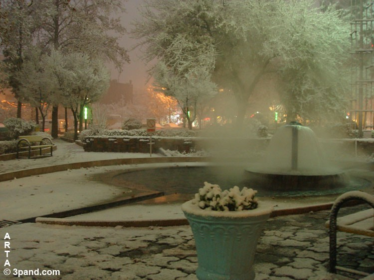 tehran iran snow hafthouz