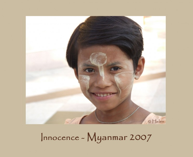 Myanmar series - Portrait 3