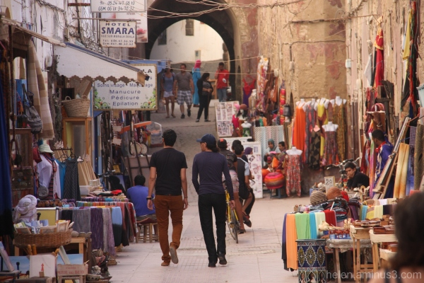 market medina essaouira morocco