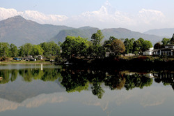 Reflections - Pokhara