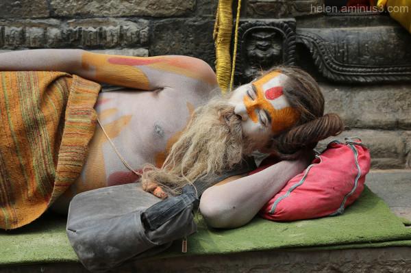 Sadhu at rest