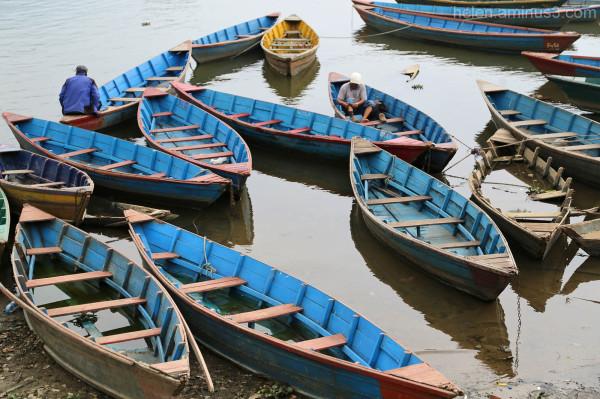 Boats - Pokhara