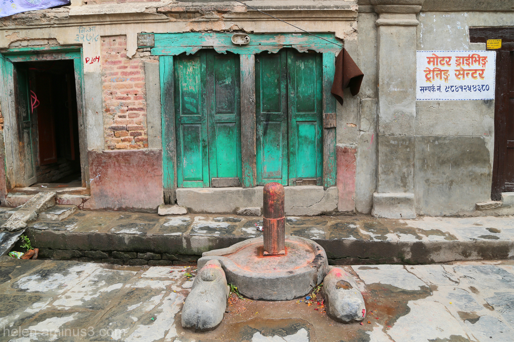 Green door - red lingam