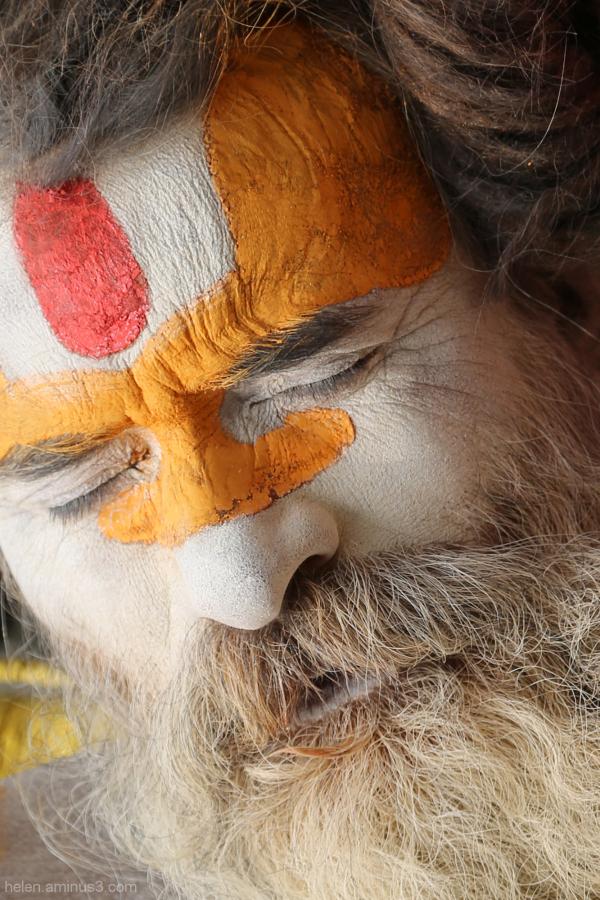 Sadhu dreaming