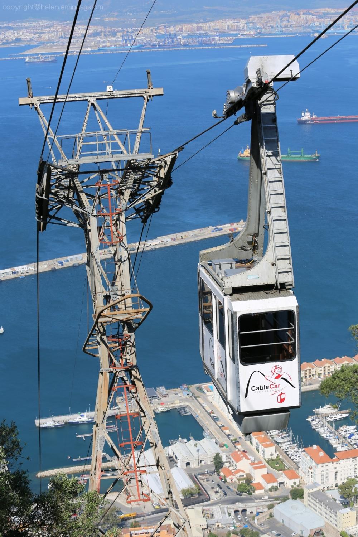 Cable car - Gibraltar