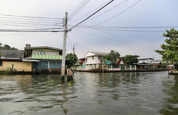 Canal crossing in the Klongs
