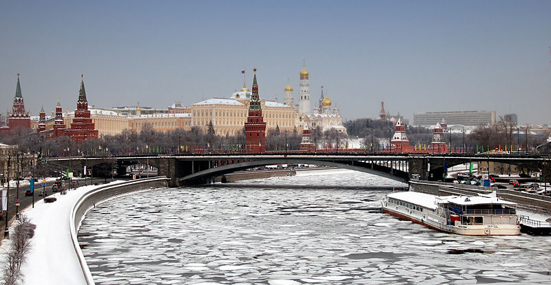 Moscow River and Kremlin
