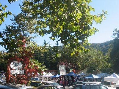 The town of Oak Glen