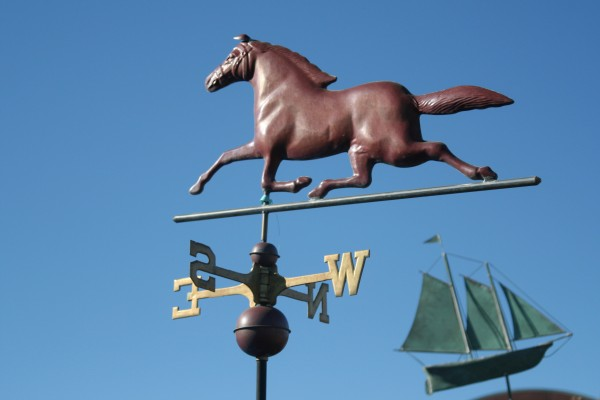 Weather Vanes at Half Moon Bay