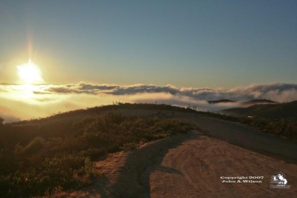 Above the Fog on Fremont Peak