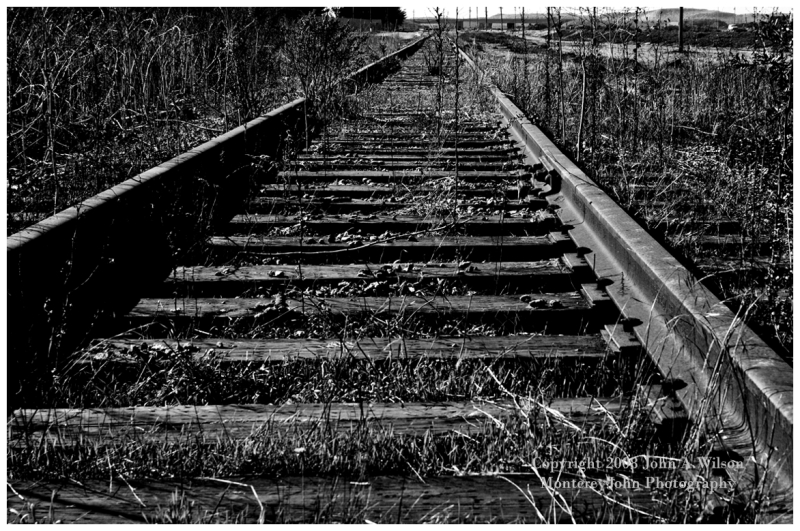 Railroad Tracks to Fort Ord