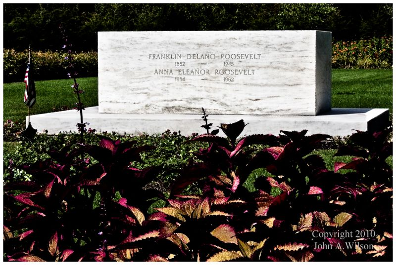 Franklin and Eleanor Roosevelt Gravesite