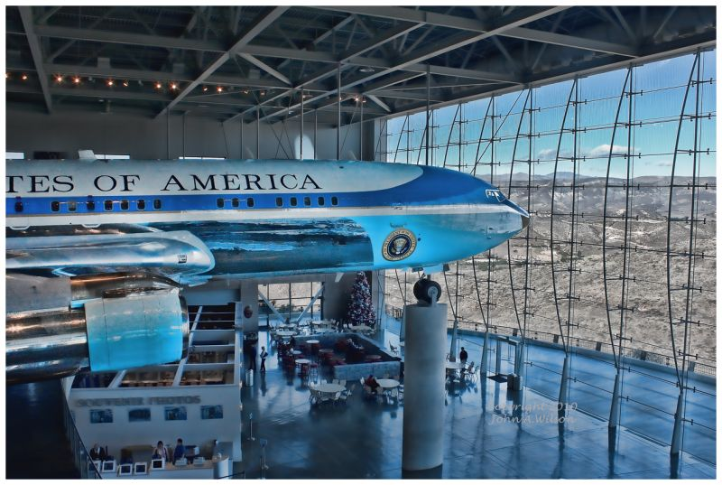 Air Force 1 at Reagan Library