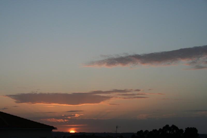 Pôr do sol - Sunset