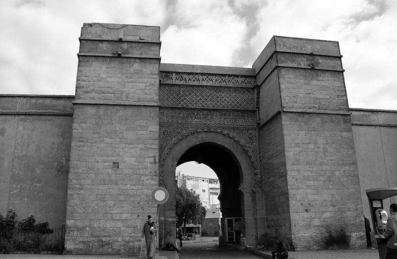 Medina antiga de Casablanca