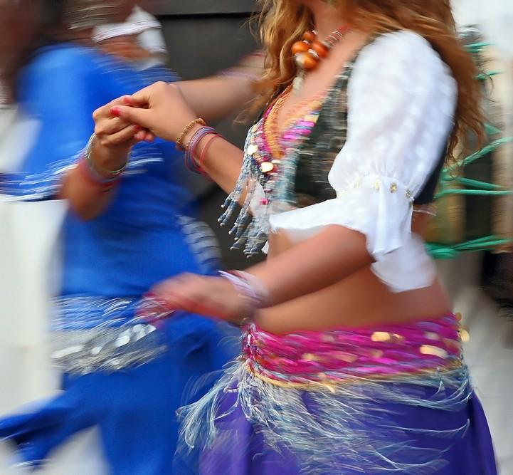 Dança do ventre - Mercado Medieval III
