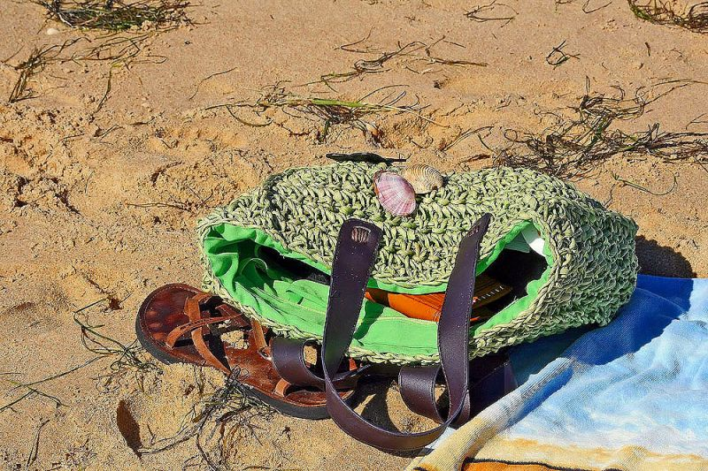 praia areia sapatos algarve