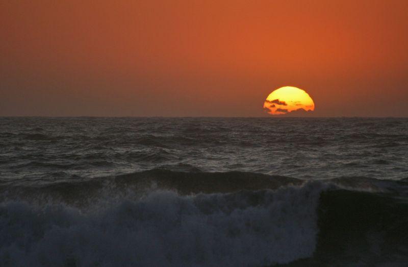 sunset mar s-pedro-de-moel