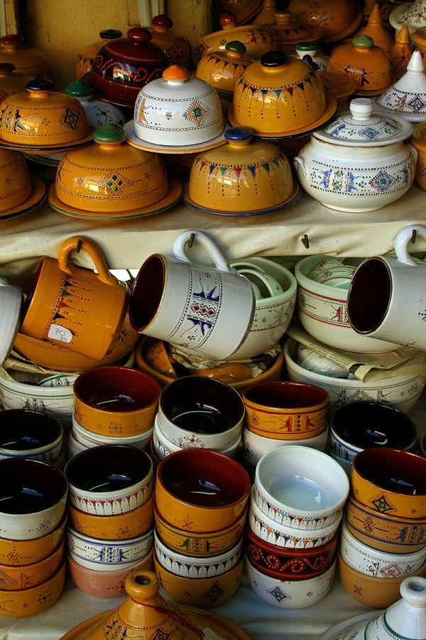 Medina of Marrakech  III - pottery