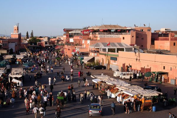In the Medina of Marrakech - buying