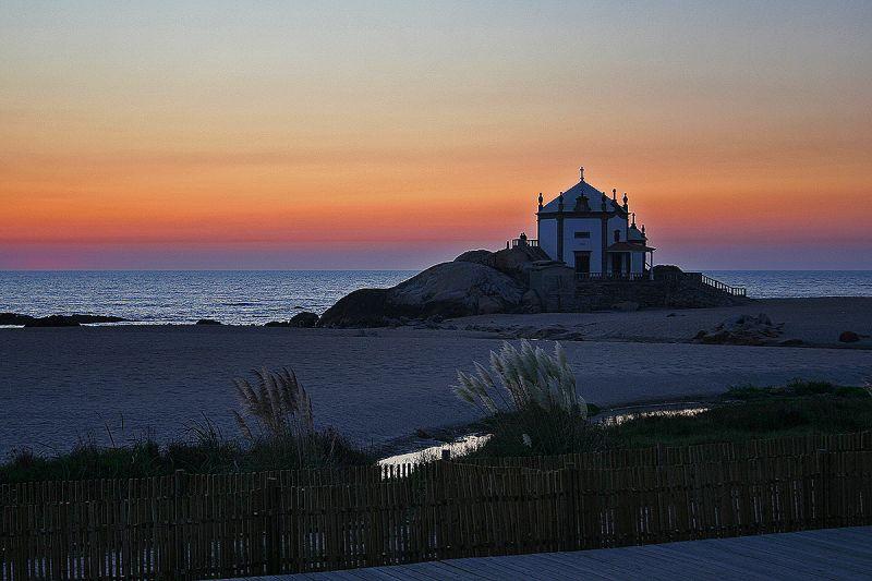 praia sunset mar miramar capela