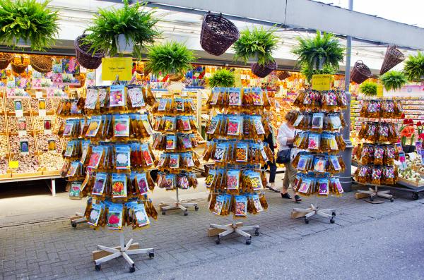 holanda Amsterdam Bloemenmarkt