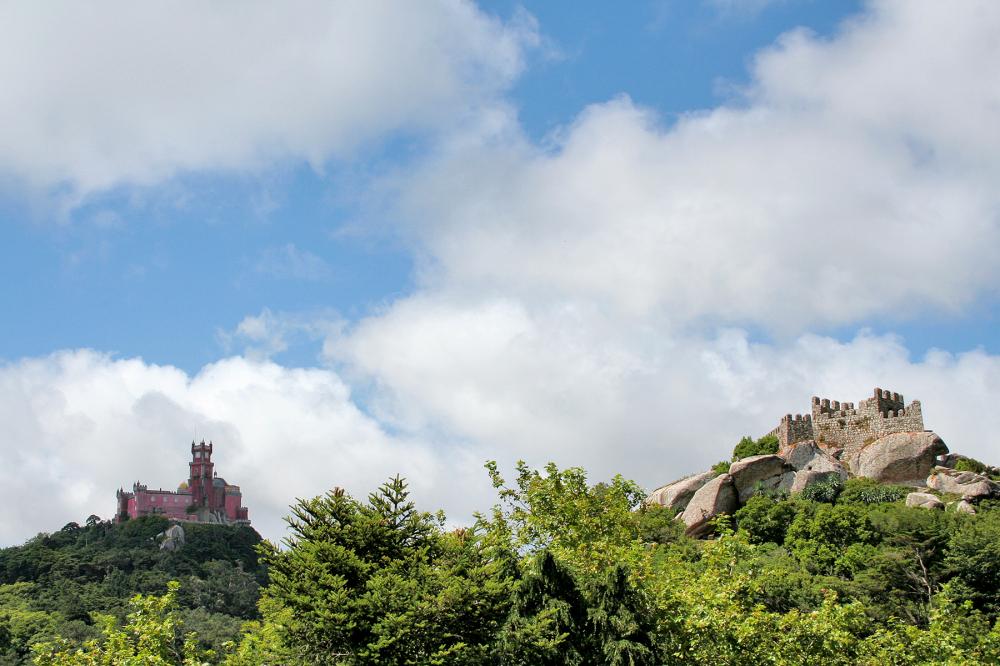 palacio-da-pena castelodos mouros palacio castelo