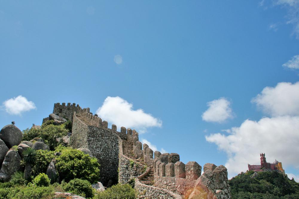 paláciodapena castelodosmouros palacio castelo