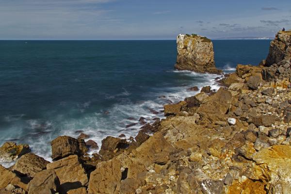 peniche rocha mar baleal praia pescador