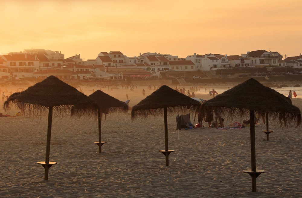 praia baleal peniche por-do-sol sunset