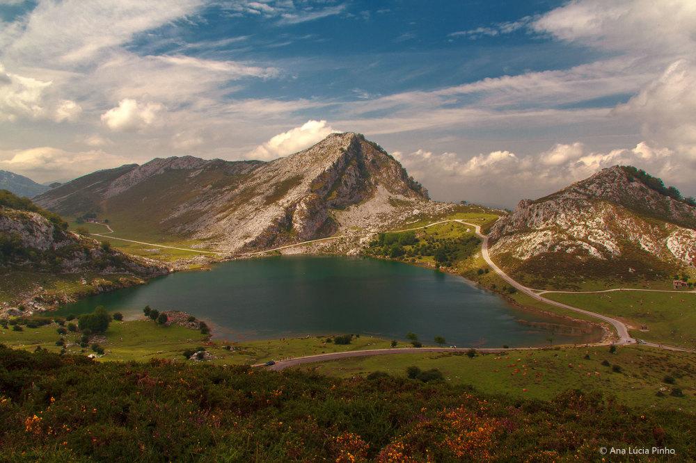 lago enol  espanha picos-da-europa