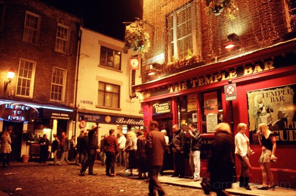 The Temple Bar (Dublin, IE)