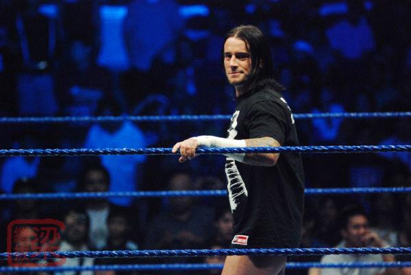 CM Punk, SmackDown!, ECW, tour, 2007, Araneta Coli
