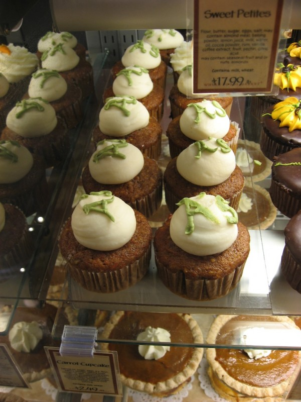 A's Cupcakes at Whole Foods