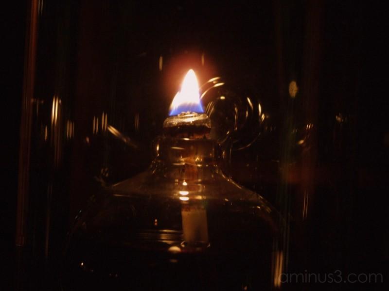kodaiji gardens oil lamp