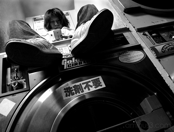 laundry japan kyoto kameoka girl portrait urban