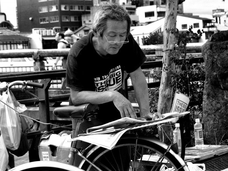 kyoto urban portrait
