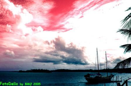 Red Sky in Cabralia-Bahia