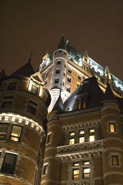 Ch&acirc;teau Frontenac - other view